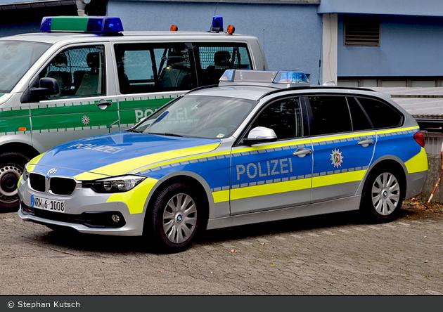 NRW6-1008 - BMW 318d touring - FuStW