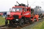 Maschen - Deutsche Bahn AG - Zweiwege-Gerätefahrzeug