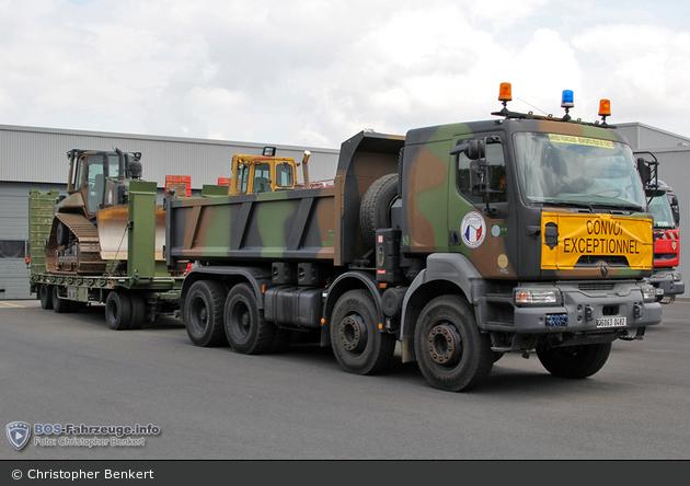 F- Armée de Terre - Muldenkipper mit Tieflader