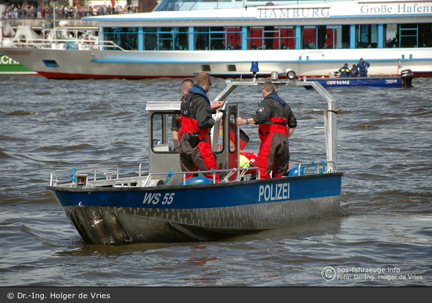 WS55 - Polizei Hamburg - WS 55