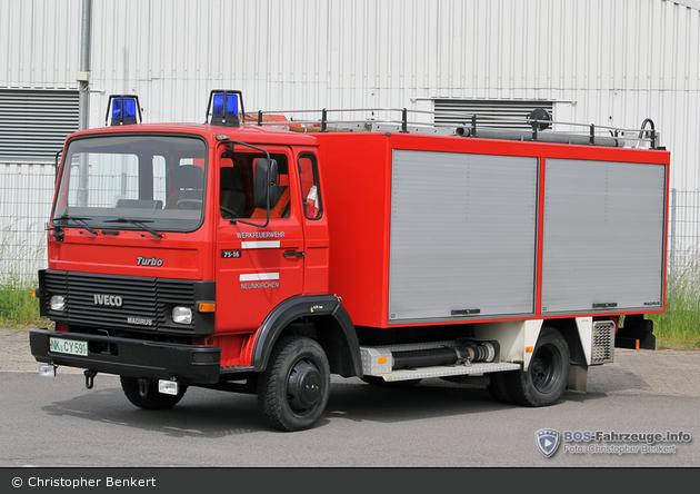 BtF Treofan Germany GmbH & Co. KG Werk Neunkirchen - TLF 8/18