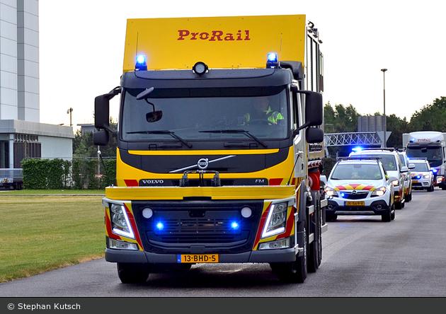Utrecht - ProRail Incidentenbestrijding - WLF-Schiene