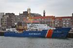 """Scheveningen - Nederlandse Kustwacht - Küstenwachtschiff """"BAREND BLIESHEUVEL"""""""