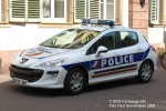 Colmar - Police Nationale - FuStW- VP