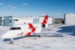 HB-JWA (c/n 6092) - Rega - Ambulanzflugzeug