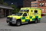 Gävle - Landstinget Gävleborg - Ambulans - 3 26-9160 (a.D.)