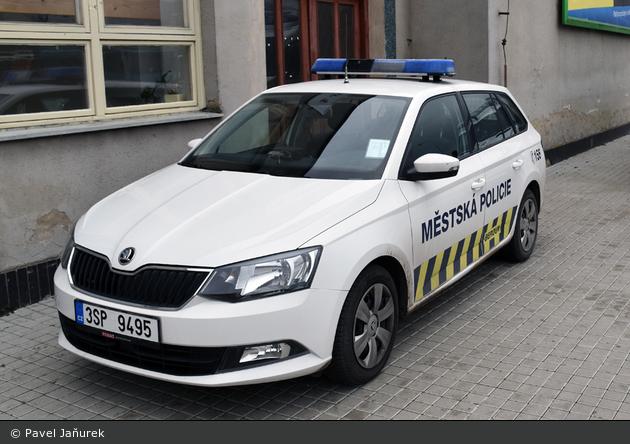 Beroun - Městská Policie - FuStW - 3SP 9495