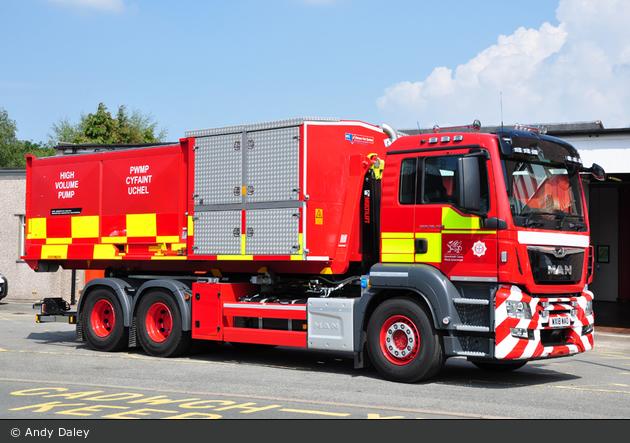 Caernarfon - North Wales Fire and Rescue Service - PM