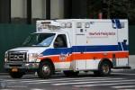 NYC - Manhattan - NewYork-Presbyterian EMS - ALS-Ambulance 1821 - RTW