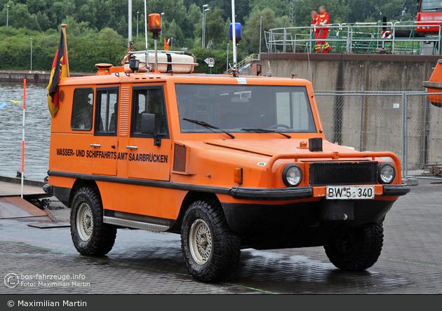 WSA Saarbrücken - Amphibienfahrzeug - BW5-310 (a.D.)