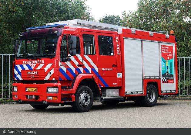Waadhoeke - Brandweer - HLF - 02-4832
