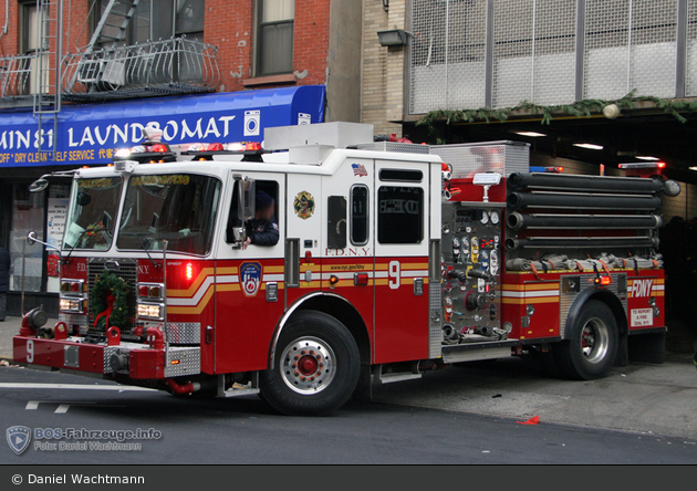 FDNY - Manhattan - Engine 009 - TLF
