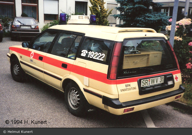 Rotkreuz Straubing 46/10-01 (a.D.)