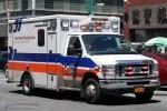 NYC - Manhattan - NewYork-Presbyterian EMS - ALS-Ambulance 1819 - RTW