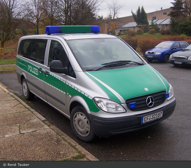 EF-32187 - MB Vito 115 CDi - FuStW - Gera (a.D.)