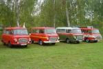 SN - Gruppenbild Barkas B1000 Feuerwehrmuseum Zeithain