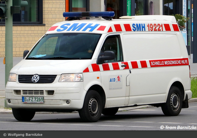 Krankentransport SMH - KTW (B-FZ 7269)