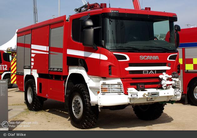 Scania P 420 - BAI - Aircrash