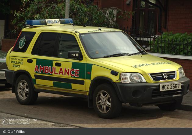 Belfast - Northern Ireland Ambulance Service - NEF