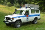 Bergwacht Rettungsfahrzeug Neukirchen