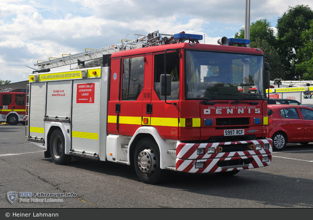 Slough - Royal Berkshire Fire and Rescue Service - PL (a.D.)