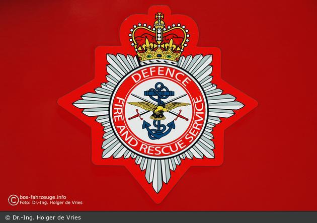 GB - Rheindahlen - Defence Fire & Rescue Service - WrL - Wappen