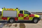 Duxford - Airfield Fire & Rescue Service - Fire 1