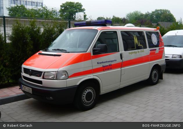 Ambulanz Köln/Krankentransporte Spies KG 03/85-05