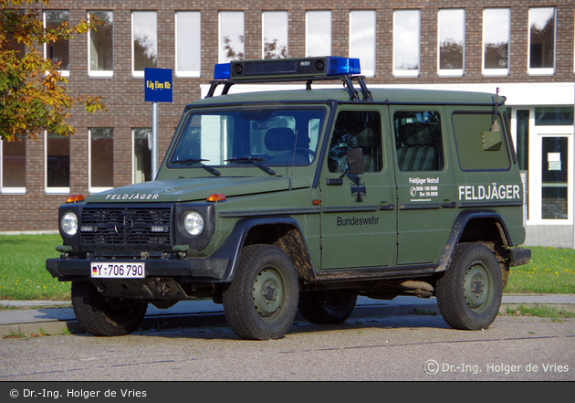 Wilhelmshaven - Feldjäger - FuStW