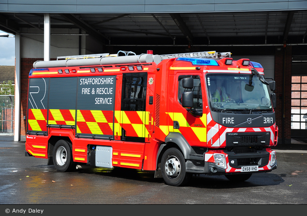 Burton-upon-Trent - Staffordshire Fire and Rescue Service - PrL