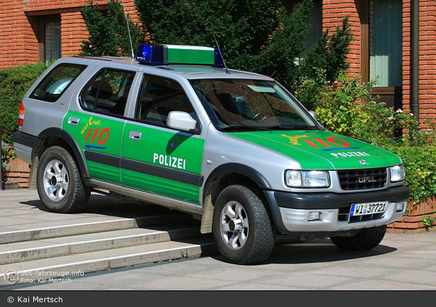 WI-37721 - Opel Frontera - FuStW