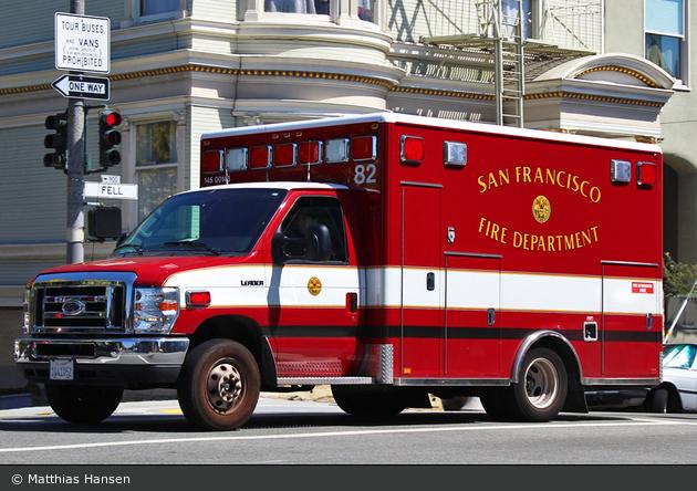San Francisco - SFFD - Medic 82