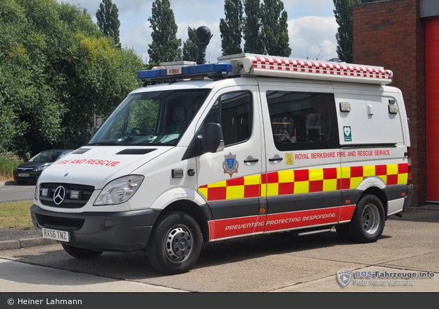 Maidenhead - Royal Berkshire Fire and Rescue Service - ICU