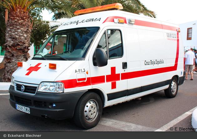 Arrecife - Cruz Roja Española - RTW - A-81.3