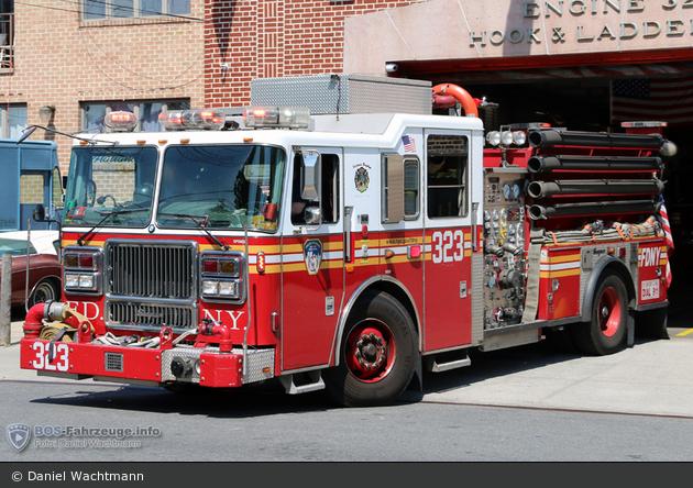 FDNY - Brooklyn - Engine 323 - TLF