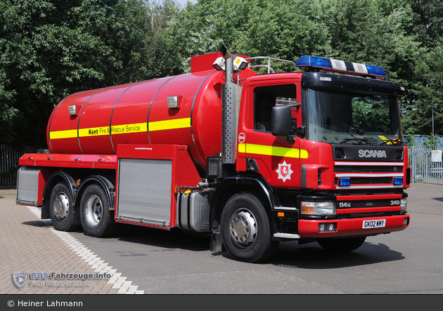 Ashford - Kent Fire & Rescue Service - WrC