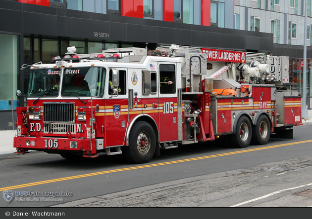FDNY - Brooklyn - Ladder 105 - TM