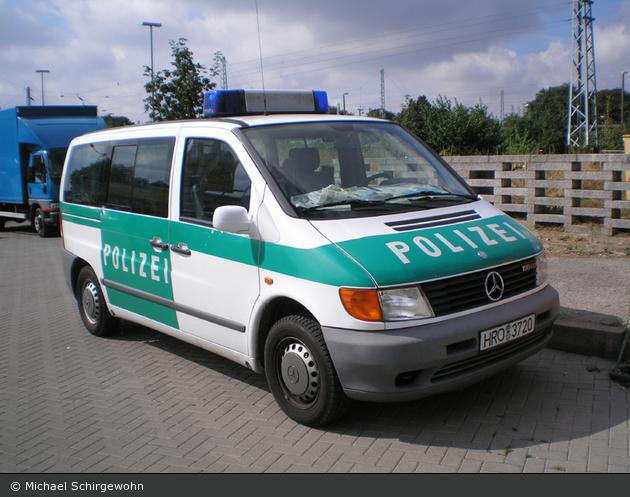 Rostock - MB Vito 110 CDI - FuStW (a.D.)