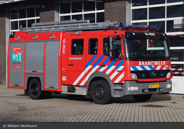 Weesp - Brandweer - HLF - 14-7032