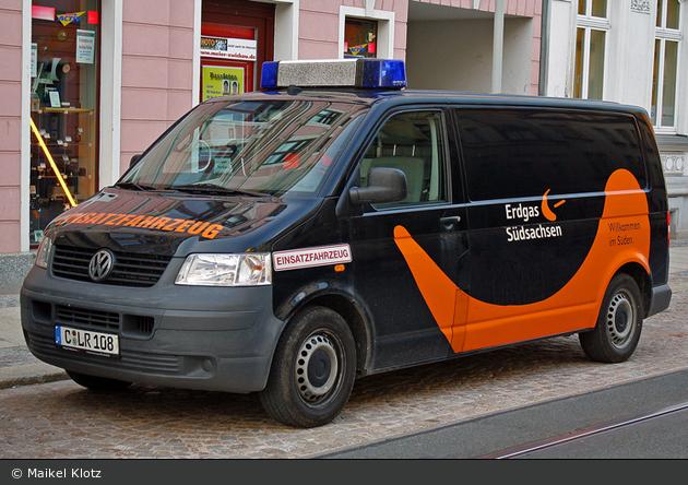Zwickau Einsatzfahrzeug Erdgas Südsachsen