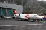 HB-JRB (c/n: 5530) - Rega - Ambulanzflugzeug (a.D.)