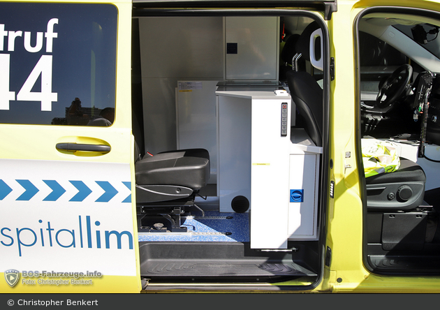 Schlieren - Spital Limattal - NEF - Limmi 315