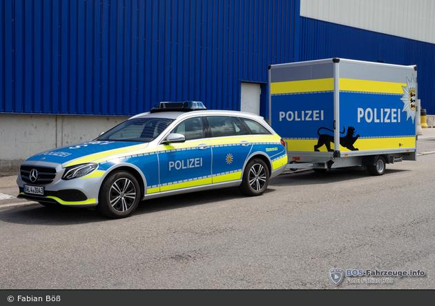 BW - PP Stuttgart - FuStW & Anhänger
