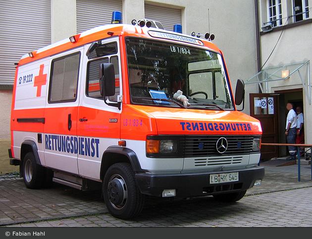 Rotkreuz Ludwigsburg 01/83-04 (a.D.)