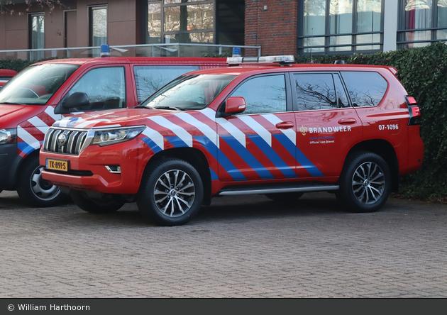 Arnhem - Veiligheidsregio - Brandweer - KdoW - 07-1096