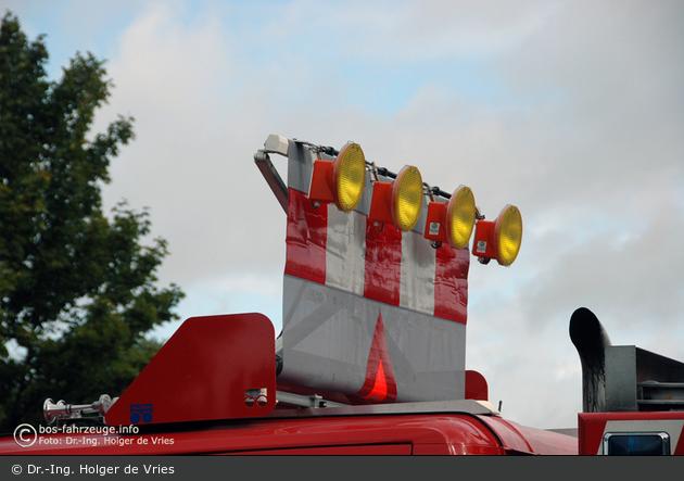 Roskilde - Brandvæsen - TLF - Verkehrssicherungseinrichtung