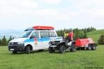 HE - Bergwacht Hessen , Bereitschaft Wasserkuppe - GW-BRett+ATV