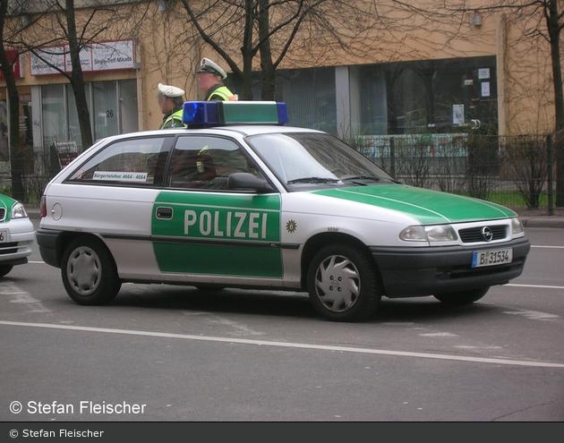 Opel Astra F - FuStW (B-31534) (a.D.)