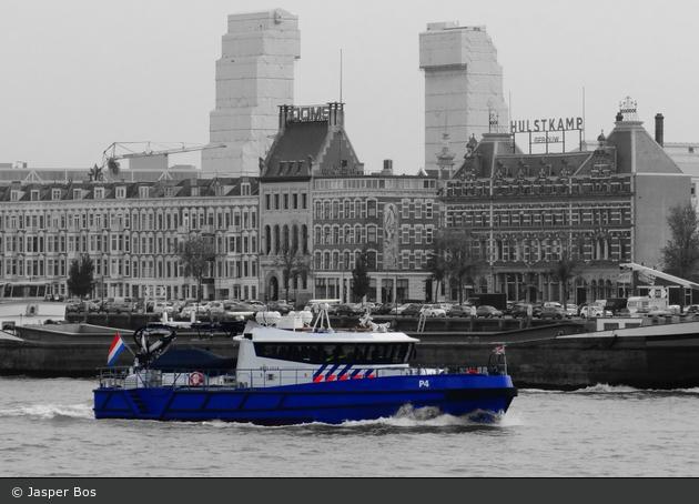 Rotterdam - Politie - WP - Polizeiboot P4