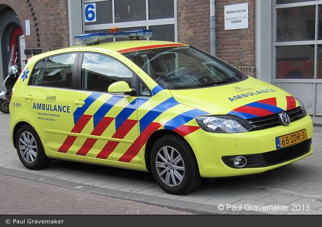 Amsterdam - GHOR - KdoW - 13-811